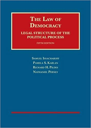 Pildes – The Law of Democracy